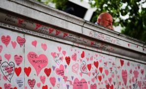 Covid-19: Reino Unido registou 166 mortes e mais de 34 mil casos