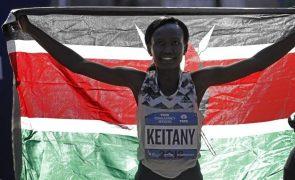 Antiga recordista mundial da maratona Mary Keitany retira-se aos 39 anos