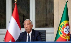 Está muito clara a vontade de São Tomé e Príncipe ter a presidência da CPLP -- Marcelo