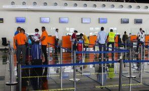 Covid-19: Aeroportos de Cabo Verde com menos 43,5% de passageiros até agosto