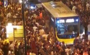 PSP mobiliza efetivos para a zona de Santos e estabelecimentos fecham às 23h