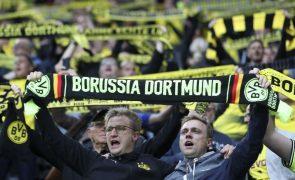 LC: Dortmund-Sporting terá 25 mil adeptos no estádio, 500 dos cuidados de saúde