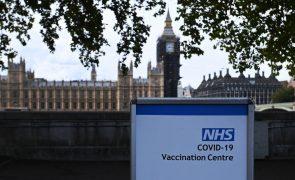 Covid-19: Reino Unido regista aumento de mortes e casos e menos internamentos