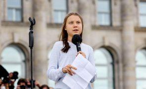 Ativista sueca Greta Thunberg acusa partidos de não fazerem o suficiente pelo clima