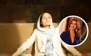 Catarina Furtado recebe ativista afegã Zarifa Ghafari em Lisboa