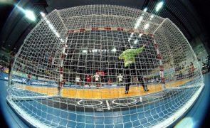 Futsal/Mundial: Portugal vence Sérvia no prolongamento e joga 'quartos' com Espanha