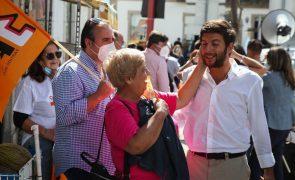 Autárquicas: Rodrigues dos Santos diz que CDS vai ser