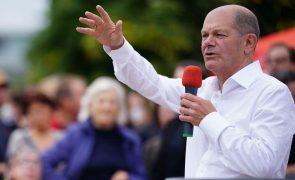 Alemanha/Eleições: Scholz diz que vai manter boas relações com sul da Europa, nomeadamente com Portugal