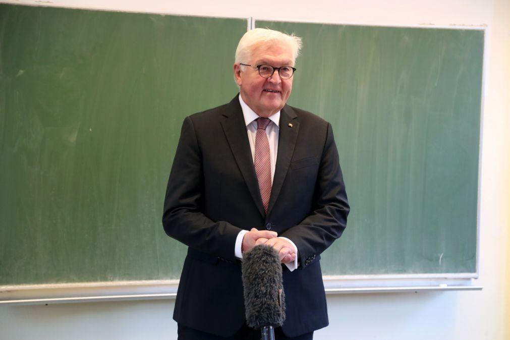 Alemanha/Eleições: Presidente alemão apela ao voto para decidir rumo do país nos próximos quatro anos