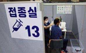 Covid-19: Coreia do Sul avança com terceira dose da vacina nos próximos meses