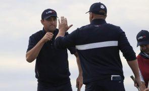Estados Unidos reforçam liderança e estão mais perto de recuperar a Ryder Cup de golfe