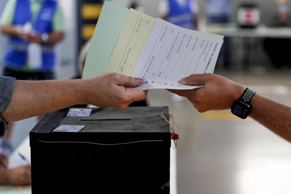Autárquicas: Erros nos boletins de voto adiam eleição em duas freguesias