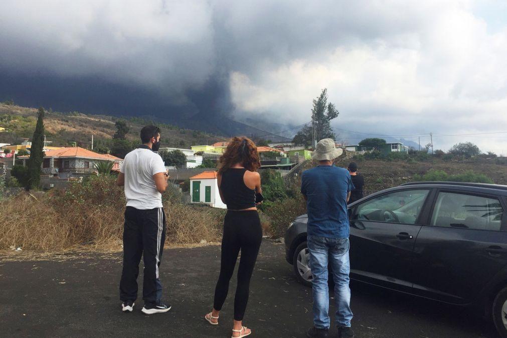 Cerca de 160 pessoas regressam a casa em La Palma após estabilização do risco