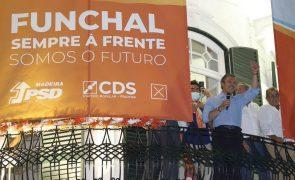 Autárquicas: Coligação PSD/CDS-PP derrota Confiança e promete cumprir todas as promessas no Funchal