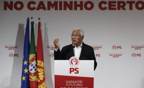 Autárquicas: Costa afirma que PS vai vencer eleições com 150 presidências de câmaras