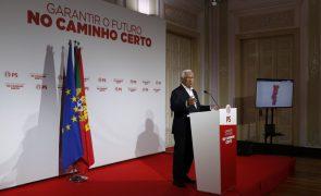 Autárquicas: Costa diz que país não é só Lisboa