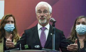 Autárquicas: José Manuel Silva promete novo ciclo em Coimbra com Câmara de