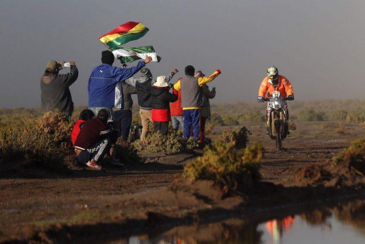 Dakar2017: Deslizamento de terras anula nona etapa