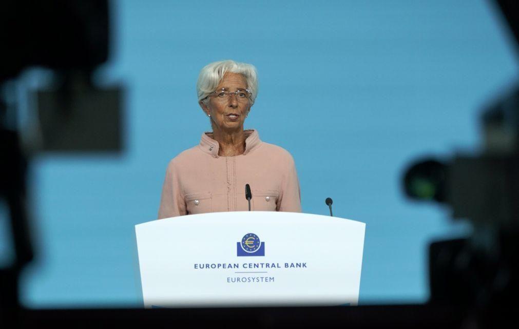 Lagarde reitera que aumento da inflação na zona euro é temporário