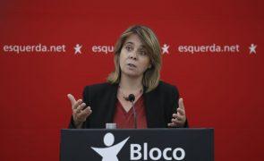 Autárquicas: Catarina Martins assume mau resultado e destaca má notícia da direita em Lisboa