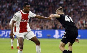 Ajax soma segund triunfo na Liga dos Campeões, Inter continua sem ganhar