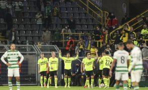 Sporting sofre em Dortmund a segunda derrota seguida na Champions