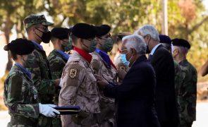 Costa homenageia militares portugueses e pede reflexão sobre 20 anos no Afeganistão