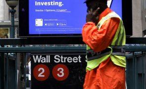 Bolsa de Nova Iorque segue a negociar em alta