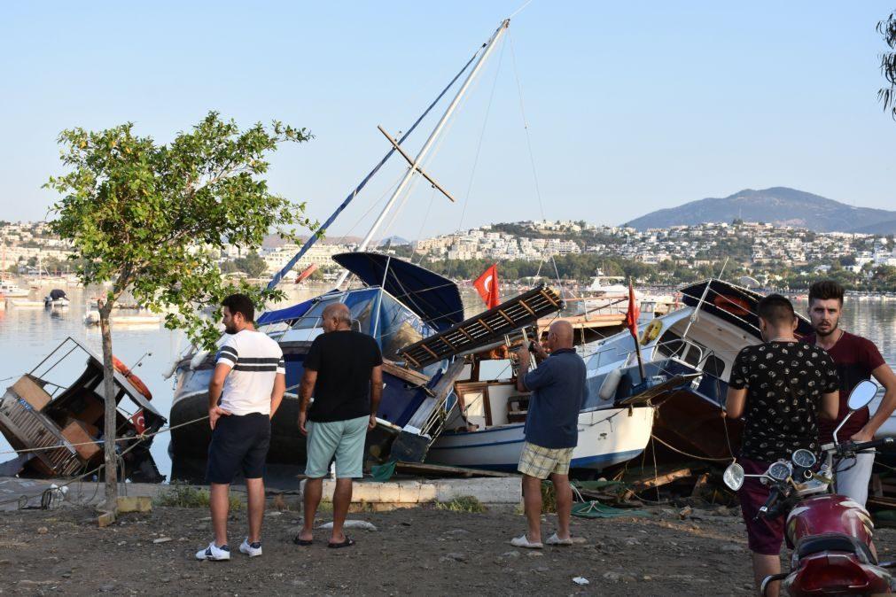Última hora: Sismo no Mar Egeu fez pelo menos 80 feridos em Bodrum na Turquia