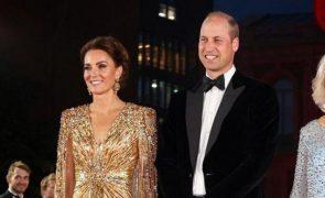 Kate Middleton arrasa com melhor vestido de sempre na estreia de James Bond