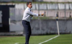 Treinador do Marítimo reage a críticas de 'antijogo' em Alvalade