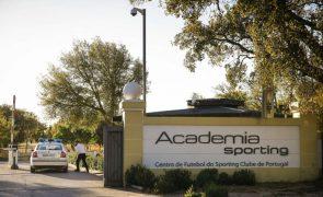 Sporting regressa aos treinos na academia para preparar visita ao Arouca