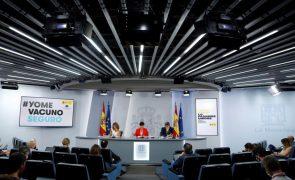 Covid-19: Espanha regista 2.400 novos casos e 18 mortes nas últimas 24 horas