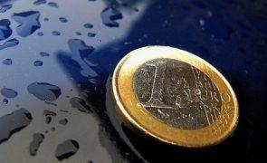 Euro cai pela quinta sessão consecutiva e fica abaixo de 1,16 dólares