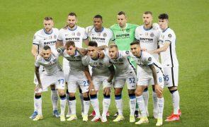 Covid-19: Inter Milão anuncia perda recorde de 245,6 milhões de euros