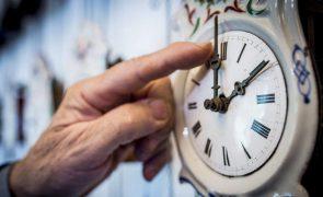 União Europeia muda para hora de inverno no dia 31