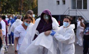 Balanço revisto para sete mortos em incêndio num hospital na Roménia