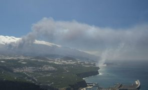 IPMA confirma que partículas de vulcão de La Palma chegaram aos Açores