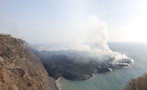 Área ocupada pelas cinzas do vulcão de La Palma sobre para 3.304 hectares