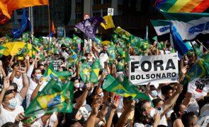 Movimento #ForaBolsonaro sai à rua em várias cidades portuguesas
