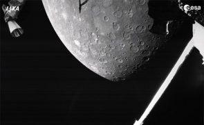 Missão BepiColombo transmite as suas primeiras imagens de Mercúrio