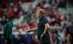 Presidente do FC Barcelona assegura continuidade de Ronald Koeman