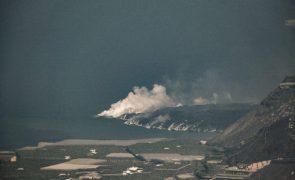 Canárias levantam confinamento na zona de La Palma por melhoria do ar