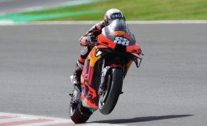 Miguel Oliveira cai e fica em 18.º na qualificação do GP das Américas de MotoGP