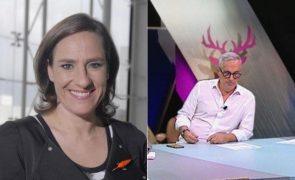 Maria Rueff Boucherie Mendes com 'cornos'? Atriz dá puxão de orelhas à SIC Radical