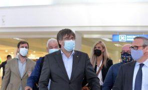 Carles Puigdemont está em Itália para se apresentar em tribunal na Sardenha