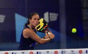 Portuguesas conquistam primeiro torneio do circuito mundial de padel como dupla