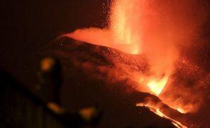 Pedro Sánchez anuncia mais 200ME para afetados pelo vulcão Cumbre Vieja