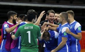 Futsal/Mundial: Brasil vence Cazaquistão e conquista terceiro lugar