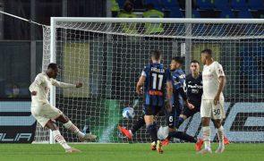 AC Milan apanha susto em Bérgamo, mas continua em 2.º na Liga italiana